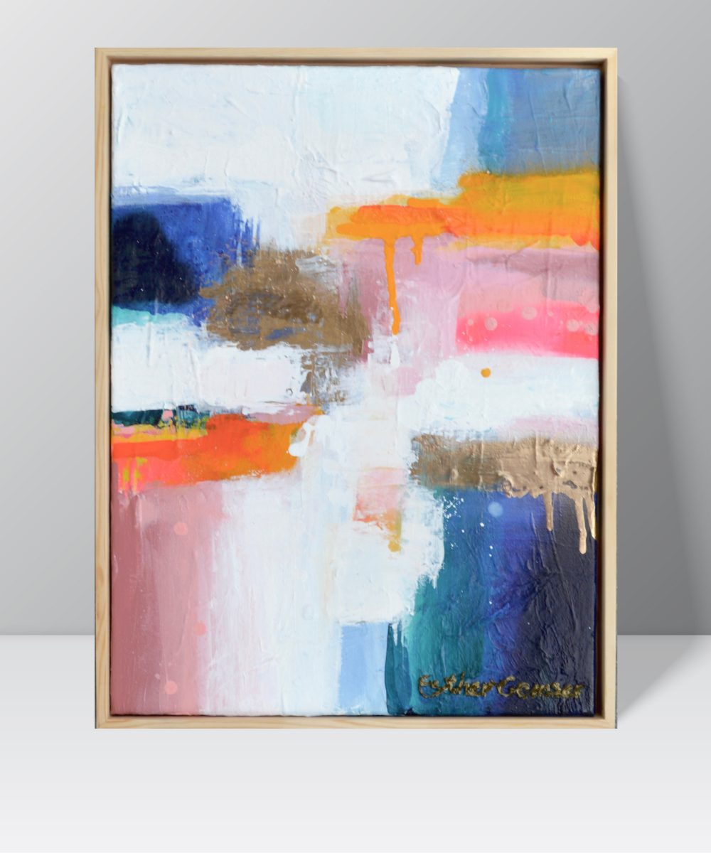 Abstract schilderij | Kunst kopen Utrecht | Esther Gemser | Design Blush