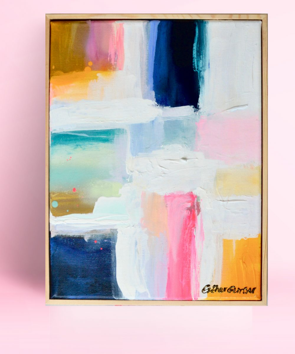 Abstract schilderij Musthave | Esther Gemser | Kunst & Design | Utrecht