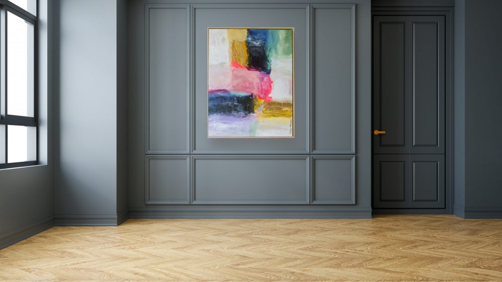 Schilderij bohemian | abstract pastel | Esther Gemser