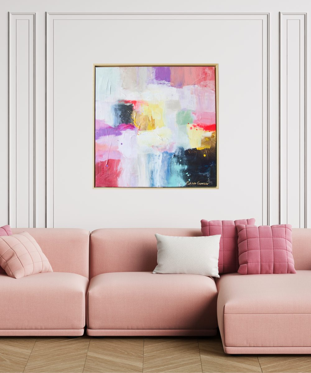 Abstract schilderij Flirty | Art & Design Utrecht | Esther Gemser