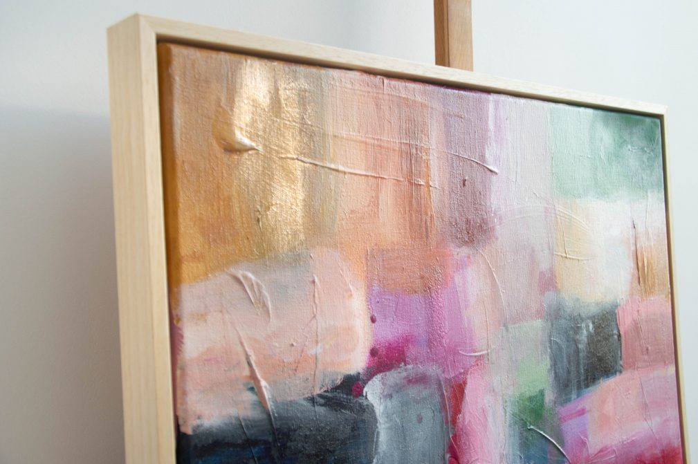 Esther Gemser Art | Abstract schilderij | Originele kunst Den Haag
