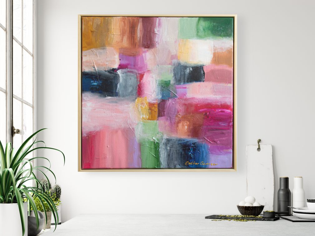 Esther Gemser Art | Schilderij Abstract | Utrecht Design Kunstenares